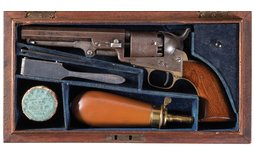 Cased Documented Colt London Model 1849 Percussion Pocket