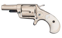 Colt New Line 38 Spur Trigger Revolver with Pearl Grips