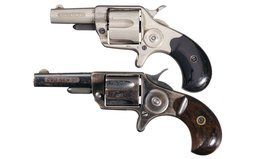 Collector's Lot of Two Colt New Line Revolvers