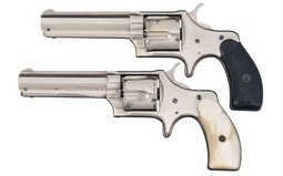 Collector's Lot of Two Remington-Smoot New Model No. 3
