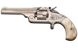 Factory Engraved Smith & Wesson Model No. 1 1/2 Revolver