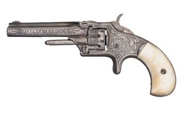 Engraved Smith & Wesson Model No. 1 Third Issue Revolver