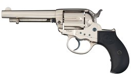 Colt Model 1877 Thunderer Double Action Revolver with Picture