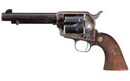 Pre-War Colt Single Action Revolver Documented