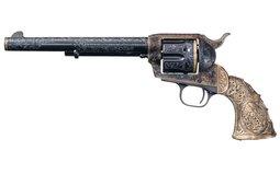 Egnraved Trunbull Colt Single Action Army Revolver