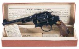 Canadian S&W 455 MKII DA Revolver with Box