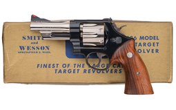 Two-Tone S&W .44 Hand Ejector Model of 1950 Target DA Revolver