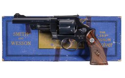 U.S. Post Office S&W .357 Registered Magnum DA Revolver with Box
