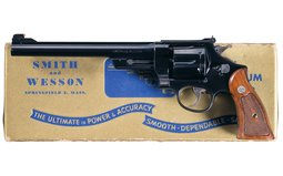 Julian Hatcher Owned S&W .357 Magnum Revolver with Long Barrel