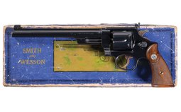 S&W .357 Registered Magnum DA Revolver with Peep Sight