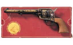 Documented Colt/Winchester Prototype Commemorative Single Action