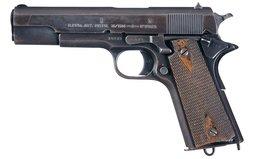 Norwegian Model 1914 Semi-Automatic Pistol