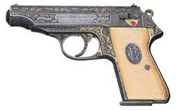Walther PP Semi Automatic Pistol-Nazi Presentation