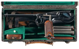 DWM Model 1893 Borchardt Cased Pistol