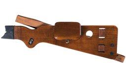 Scarce DWM Shoulder Stock for a Borchardt Semi-Automatic Pistol