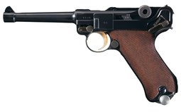 1938 Dated Mauser Banner Swedish Test Luger