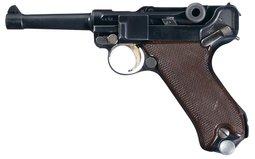 Excellent 1937 Krieghoff Luftwaffe Luger Pistol