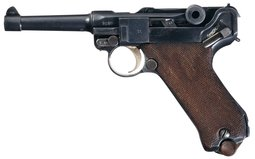 Erfurt 1916 Dated Luger Semi-Automatic Pistol