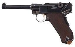 DWM Model 1906 American Eagle Luger Pistol