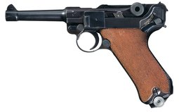 Mauser - P08  World War II Nazi 1941 Dated