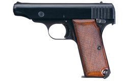 Japanese Hamada Type One 7.65mm Semi-Automatic Pistol