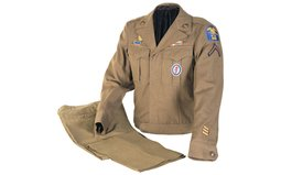 Fine U.S. Army Uniform Set Outfitted for an Enlisted Man