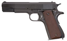 U.S. Colt 1911A1 Pistol with Holster
