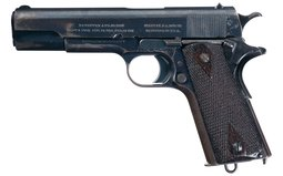 First Year U.S. Colt Model 1911 Pistol with Holster