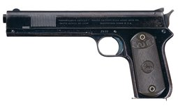 Colt Model 1900 Sight Safety Pistol with British Proofs