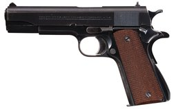 Pre-WWII Colt Government Model National Match Pistol