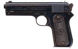 Colt Model 1903 Pocket Hammer Semi-Automatic Pistol