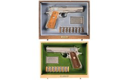 Collector's Lot of Two Matched Colt World War II Commemoratives