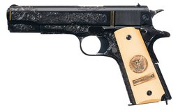 Colt WWI 2nd Battle of Marne Custom Deluxe 1911