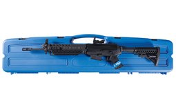Sig Arms 556 Semi-Automatic Carbine with Optical Sight and Case