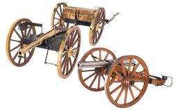 Two 1/16th Scale Cannons