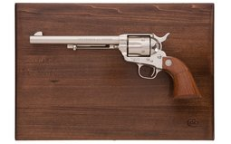 Cased Nickel Third Generation Colt Single Action Army Frontier