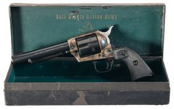 Colt Second Generation Single Action Army Revolver with Factory
