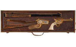 Two Cased Matched Charles Daly NRA Commemorative Revolvers