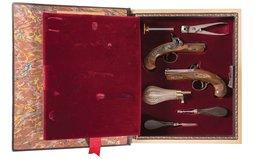 United States Historical Society Henry Deringer Cased Set