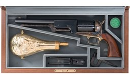 Colt Black Powder Series Walker Percussion Revolver with Case
