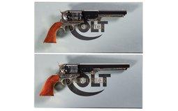 Two Colt Black Powder Signature Series Percussion Revolvers
