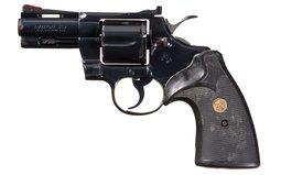 Desirable 3 Inch Barrel Colt Python Double Action Revolver