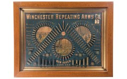 Winchester Factory Bullet Board
