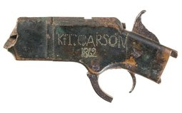 Kit Carson Inscribed Henry Rifle Receiver