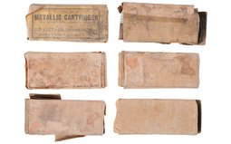 Leather Ammunition Pouches and Civil War Carbine Ammunition