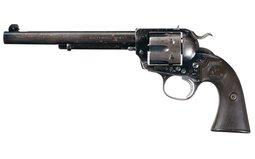 Colt Bisley Flattop Target Model Revolver Dever Shipped