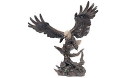 The Great American Bald Eagle Bronze