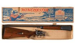 Boxed Winchester Model 63 Semi-Automatic Rifle