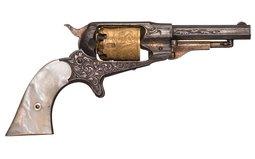 Engraved Remington New Model Pocket Percussion Revolver