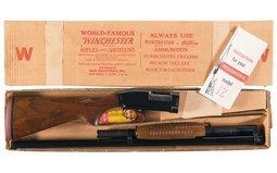 Excellent Winchester Model 12 Heavy Duck Slide Action Shotgun